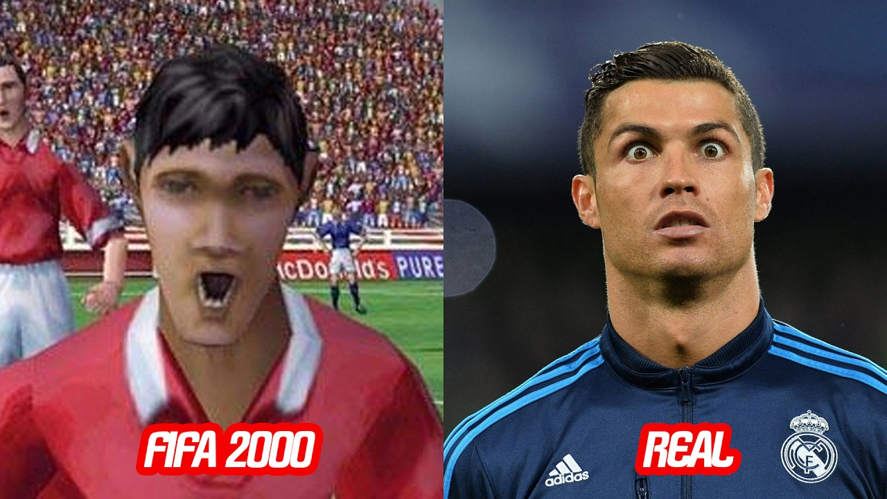 Cristiano Ronaldo Face Change In Fifa  To Fifa  Vs Real Face Over The Years Youtube
