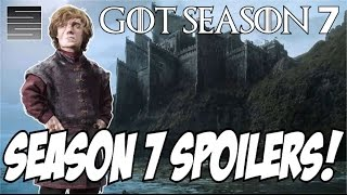 Game of Thrones Season 7 Predictions- New Filming News (Spoilers)!