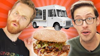 The Try Guys $3 Food Truck Challenge