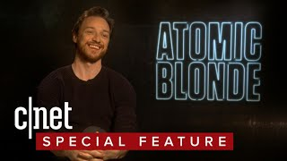 James McAvoy spies insane action in 'Atomic Blonde'