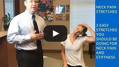 Chiropractor Justin Tuttle in Peoria Demonstrates Neck Stretches For Neck Pain