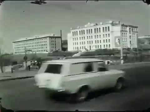 Ностальгическое видео старого Владивостока, черно-белый сюжет. Old Vladivostok, Soviet Union