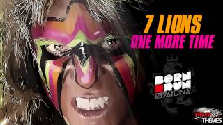 "WWE: Ultimate Warrior Tribute Theme Song - ""One More Time"" By 7LIONS"