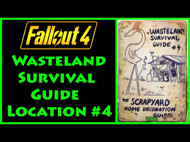 Fallout 4: Where To Find Wasteland Survival Guide Magazines Location Guide