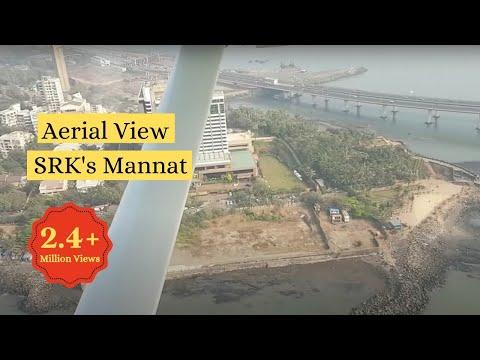 Aerial tour of Shah Rukh Khan's Mannat