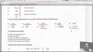Easy Etymology (Tasheel-us-Sarf) Lessons 6