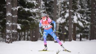Чемпионат России по биатлону Чайковский 2020 Индивидуальная гонка Женщины