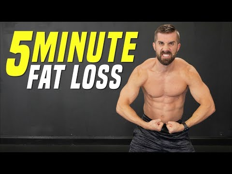 The MOST Effective 5-Minute FAT LOSS Body Weight Workout