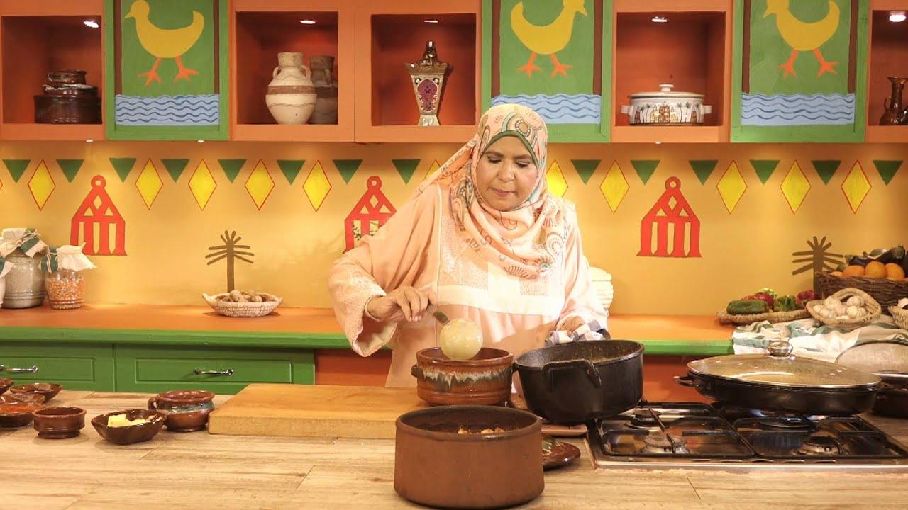 روايح من بلدنا - صدور دجاج مشوية بالخضار + ارز معمر بقطع الدجاج + شوربة بطاطس + بسبوسة  4