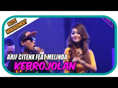 Arif Citenx Feat Melinda - Kebrojolan [Official Music Karaoke Video]