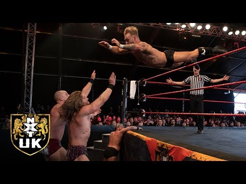 The Grizzled Young Veterans battle Moustache Mountain: NXT UK Highlights, July 3, 2019