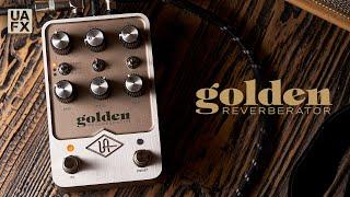UAFX Golden Reverberator