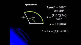concepto de radian