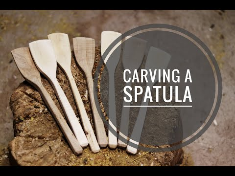 Carving a spatula