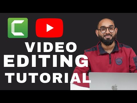Video Editing Tutorial for Beginners | YouTube Video Making | Camtasia Studio 9 | thumbnail