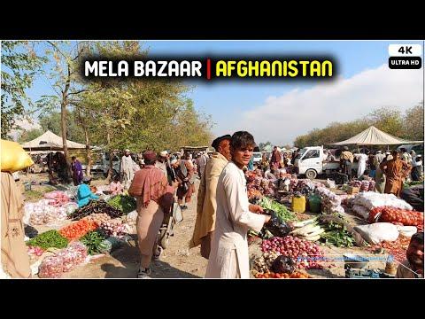 Mela Bazaar   Afghanistan   Street Shopping market   2021   4K
