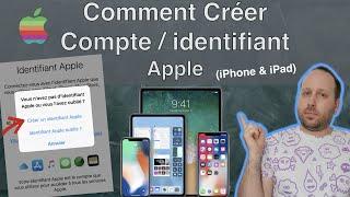 Comment Créer un Compte (identifiant) Apple (2020)