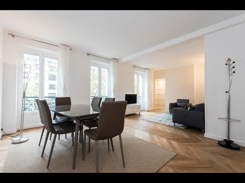 (Ref: 07085) 2 -Bedroom furnished apartment for rent on Avenue Bosquet Paris (7th)