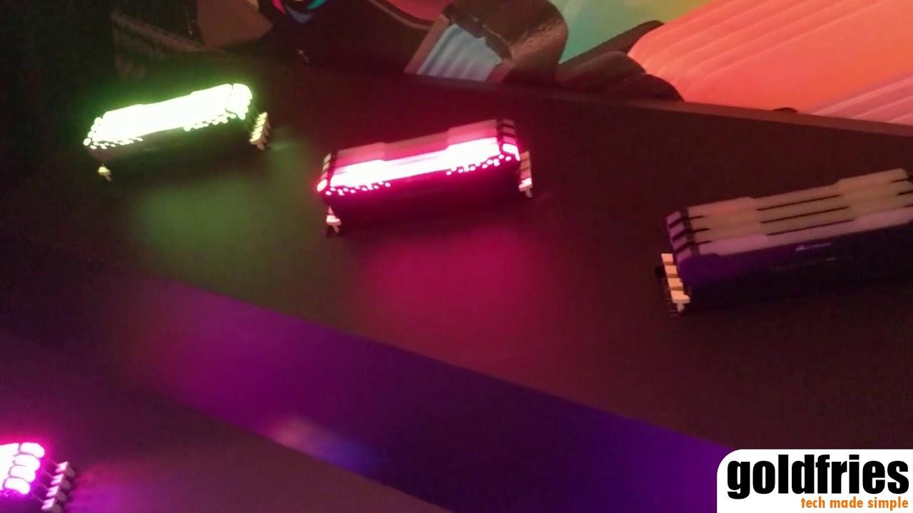 Corsair Introduces Vengeance RGB Pro DDR4 Memory Module at Computex 2018