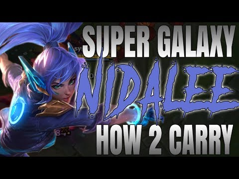 ✨🌟 How 2 Carry Diamond w/ Super Galaxy Nidalee! 🌟✨