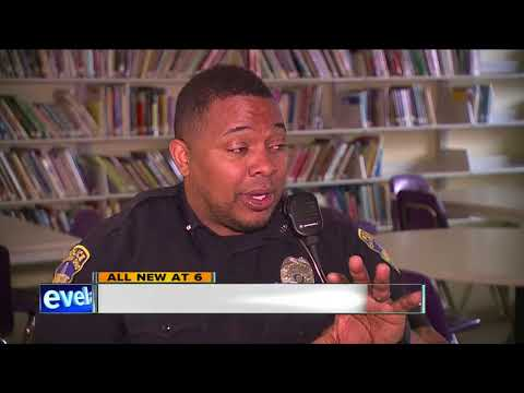 Rock star cop changing lives in Canton schools, community
