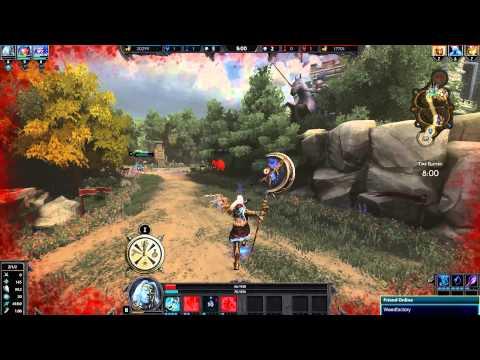 видео: smite Кронос богът на времето!