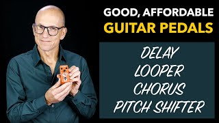 Good, affordable guitar pedals - MeloAudio Looper, Delay, Chorus and Pitch Shifter