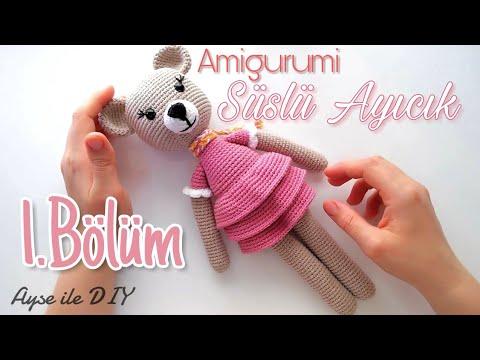 Amigurumi Ayı yapımı 3 (Kol) / Crochet Amigurumi Bear 3 ( Arm ... | 360x480