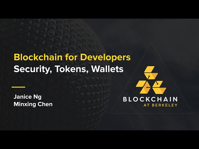 [Week 5] Spring 2020 Blockchain for Developers: Security, Tokens, Wallets