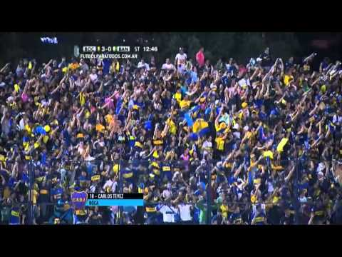 Tevez la rompió y Boca avanzó en la Copa Argentina
