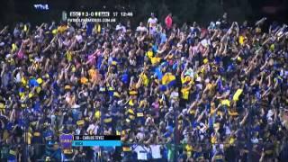 Gol de Tevez. Boca 3 - Banfield 0. 16vos de Final. Copa Argentina 2015. FPT.