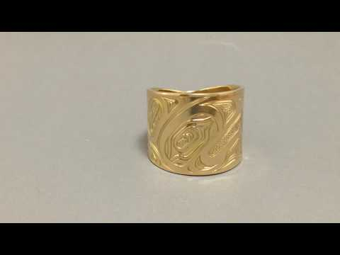 Northwest Native Indian Eagle Ring Explained by the Artist