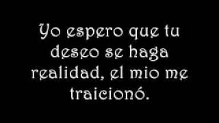 La letra de la canción Tallulah traducida al español... Cualquier c...