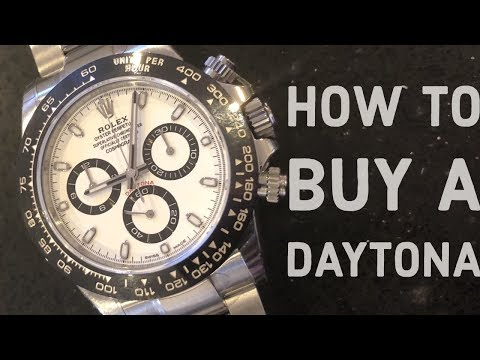 HOW TO BUY A ROLEX DAYTONA – REVIEW