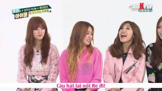 [Vietsub] A Pink @ 140409 Weekly Idol {A Pink Team} [360kpop]
