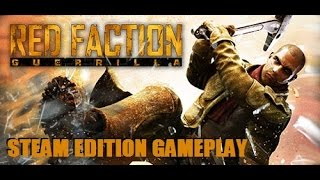 Red Faction: Guerrilla Steam Edition - Destructive 60fps Gameplay - DirectX 11