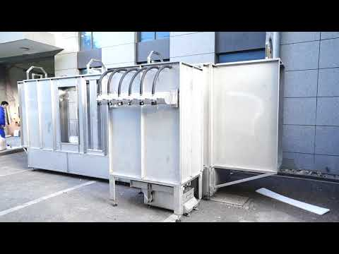 Automatic Powder Spray Booth Systems Export to Dominica