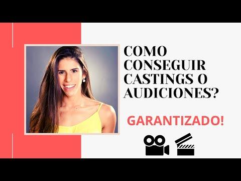 Cómo conseguir castings o audiciones? Tips de actuación - ESTEFANY GOMEZ