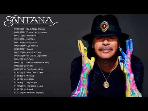 The Best of Santana Full Album 2018 - 2019
