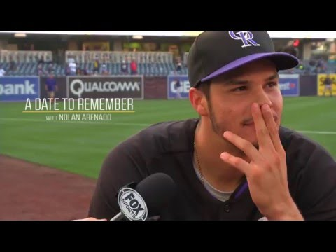 A Date to Remember with Nolan Arenado