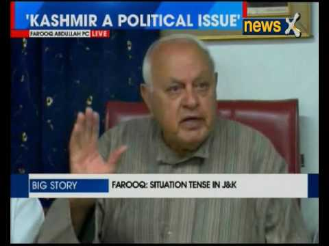 Situation tense in Jammu and Kashmir, need permanent solution: NC president Farooq Abdullah