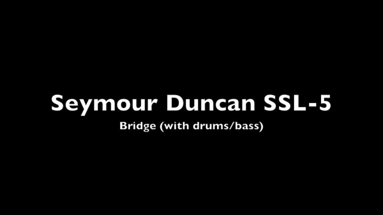 Seymour Duncan Ssl 5 Bridge Demo