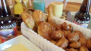 No-knead Soft Pretzels, Pretzel Sticks & Pretzel Nuggets (a.k.a. The Ultimate Basket Of Pretzels)