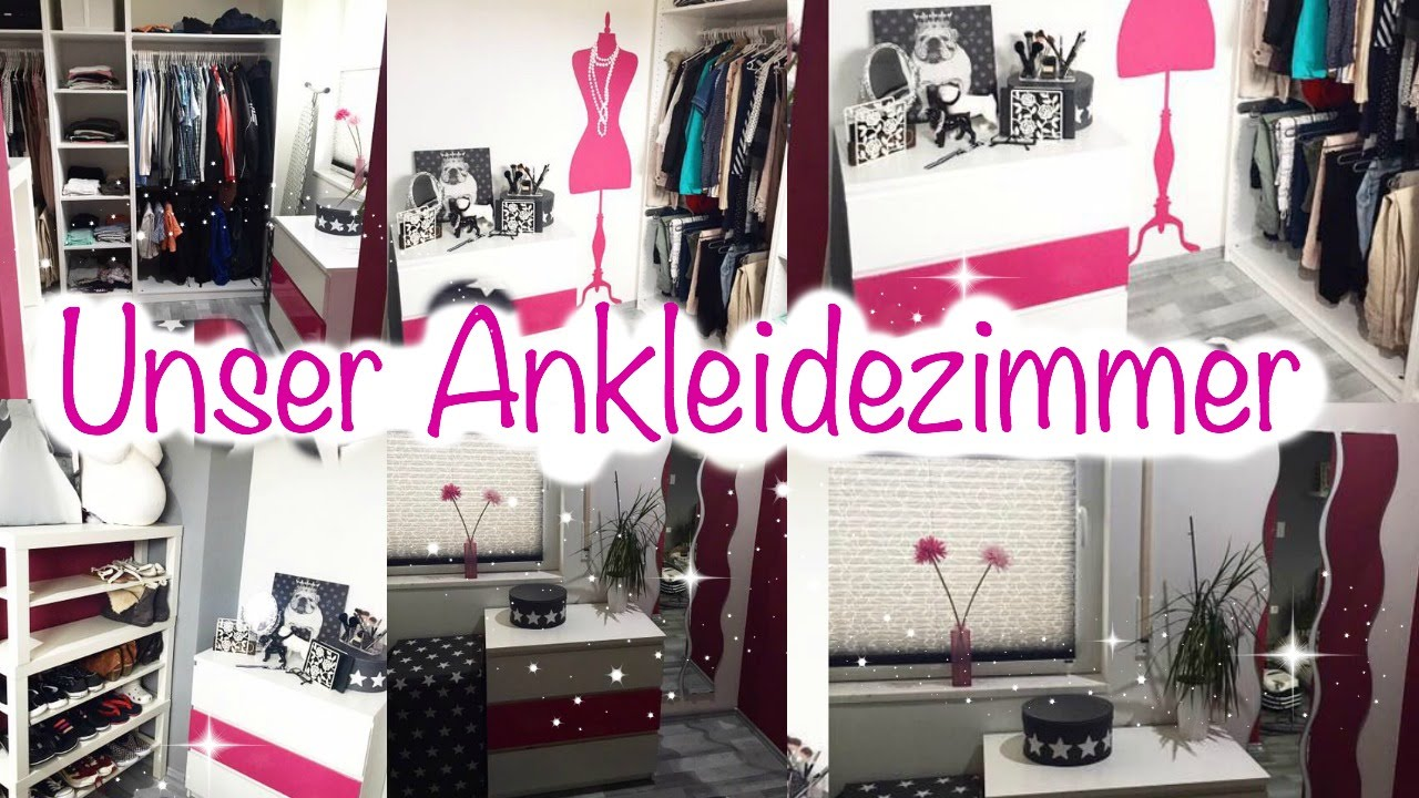 unser haus vlog ankleidezimmer gemeinsam einrichten dekorieren youtube. Black Bedroom Furniture Sets. Home Design Ideas