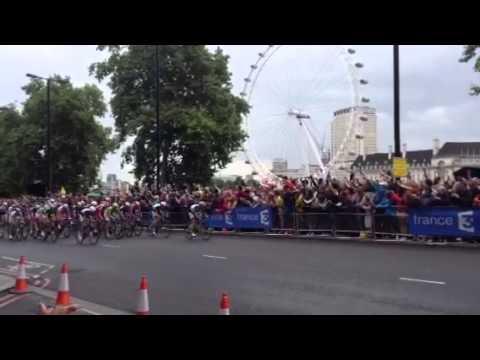 Tour de France 2014 London Eye Giant Kittel win
