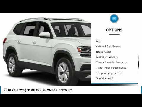 2018 Volkswagen Atlas VF180378