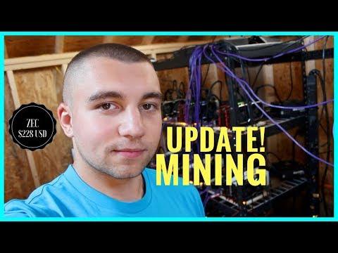 30000 Zcash ZEC Mining Farm - Massive DIY Equihash GPU Mining
