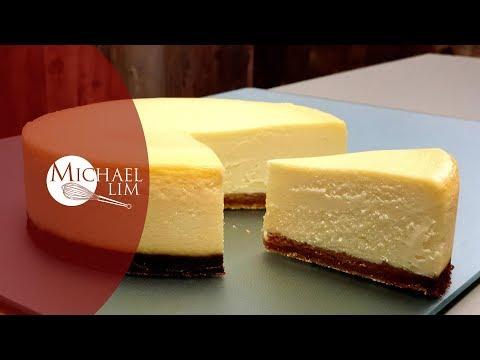 Baked Lemon Cheese Cake