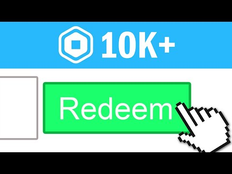 ENTER THIS PROMO CODE FOR FREE ROBUX! (10,000 ROBUX) October 2020 thumbnail