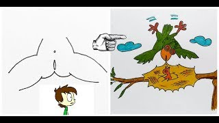 Funny Dirty Drawings Surprise - How to Draw Funny Dirty Surprise Part 1